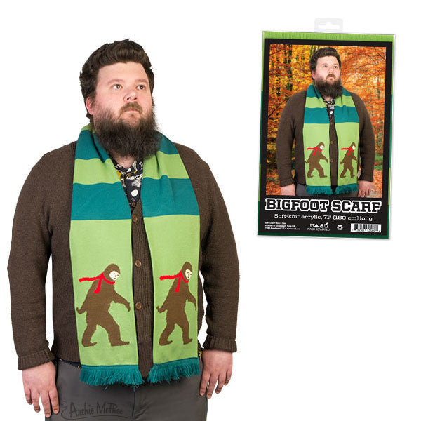 Bigfoot Scarf - Archie McPhee - 1