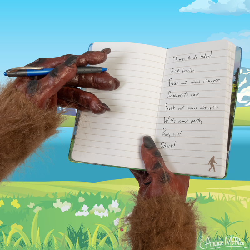 What Would Bigfoot Do? Notebook