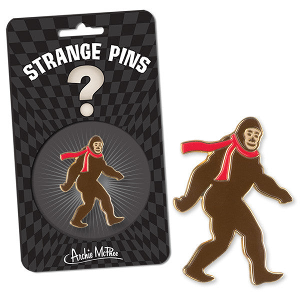 Bigfoot Enamel Pin