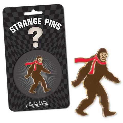Bigfoot Strange Pin