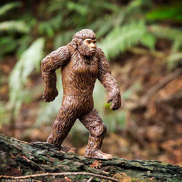 Bigfoot Action Figure-Archie McPhee
