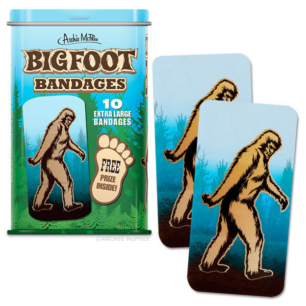 Bigfoot Bandages-Archie McPhee