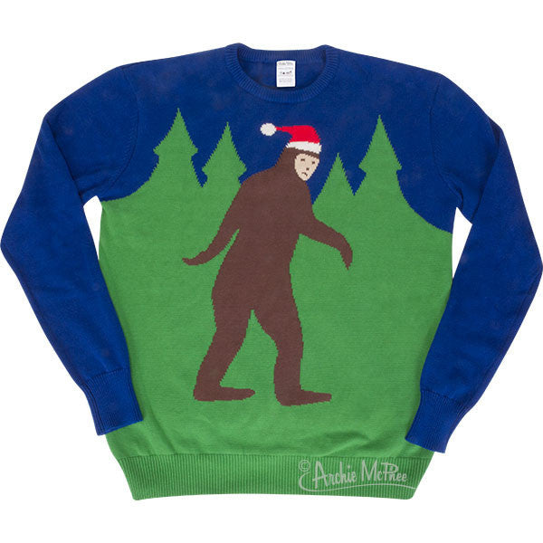 Bigfoot Sweater - Archie McPhee - 1