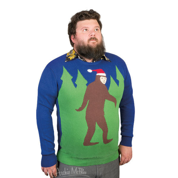 Bigfoot Sweater - Archie McPhee - 2