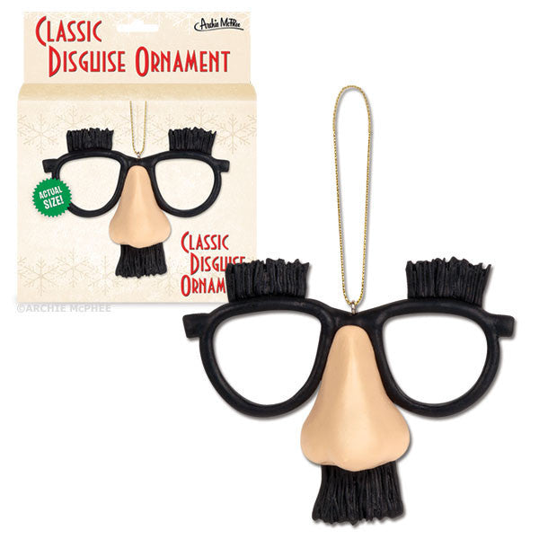 Classic Disguise Ornament - Archie McPhee - 1