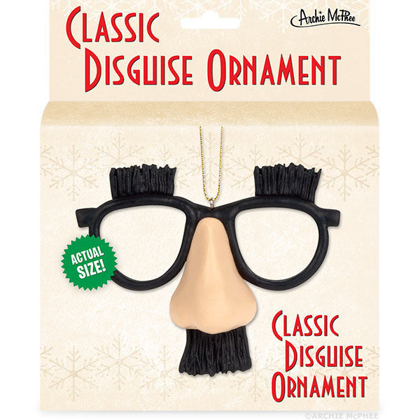 Classic Disguise Ornament - Archie McPhee - 2