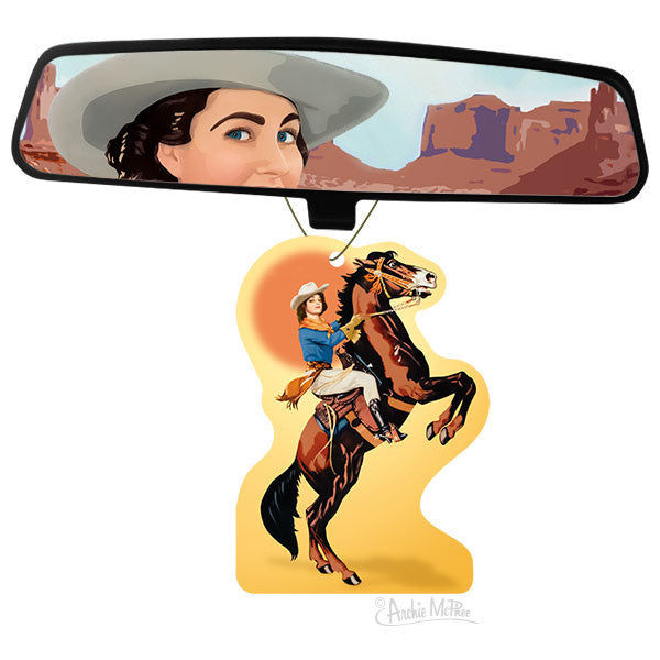 Cowgirl Air Freshener-Archie McPhee