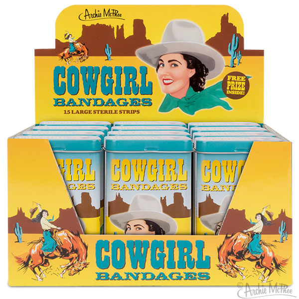 Cowgirl Bandages - Bulk Box