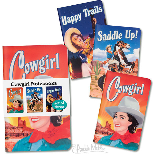 Cowgirl Notebooks