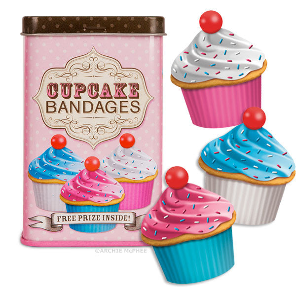 Cupcake Bandages-Archie McPhee