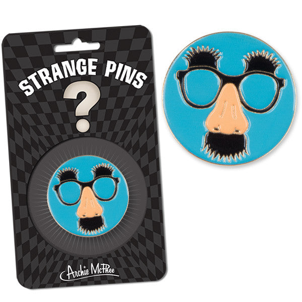 Disguise Glasses Strange Pin