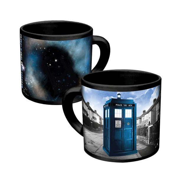 Doctor Who Disappearing TARDIS mug - Archie McPhee - 1
