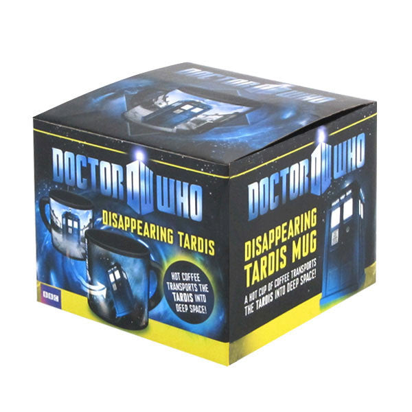 Doctor Who Disappearing TARDIS mug - Archie McPhee - 2