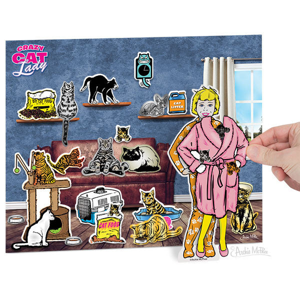 Dress-Up Crazy Cat Lady-Archie McPhee