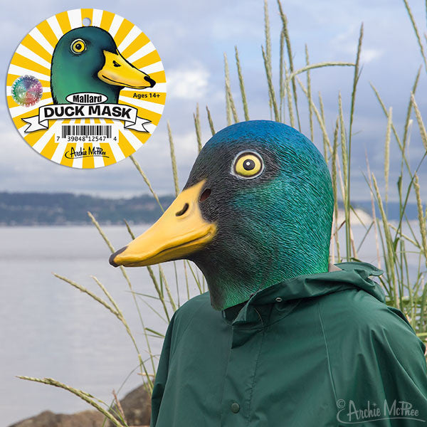 Mallard Duck Mask Archie Mcphee Amp Co