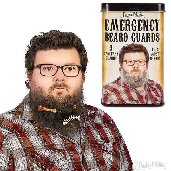 Emergency Beard Guards-Archie McPhee