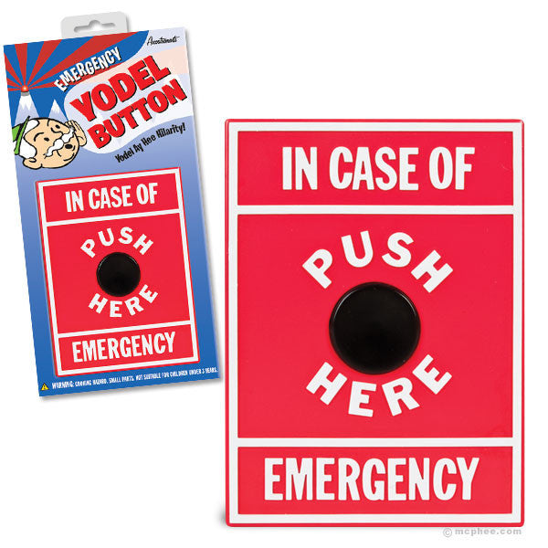 Emergency Yodel Button - Archie McPhee