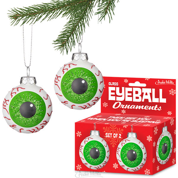 Eyeball Ornaments-Archie McPhee