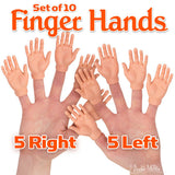 Set of 10 Finger Hands - Archie McPhee - 1