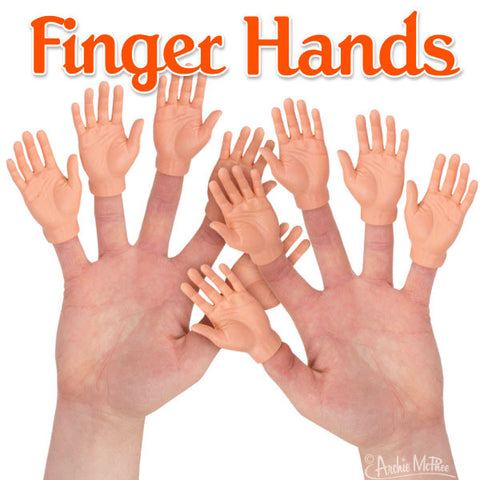 Finger Hands - Bulk Box