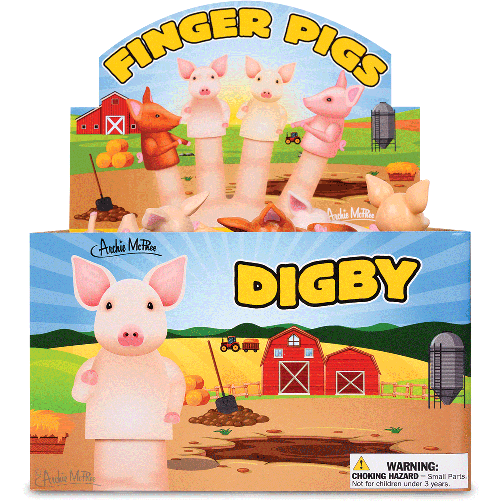 Finger Pigs Bulk Box