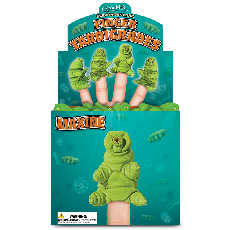 Glow-in-the-Dark Finger Tardigrades Bulk Box