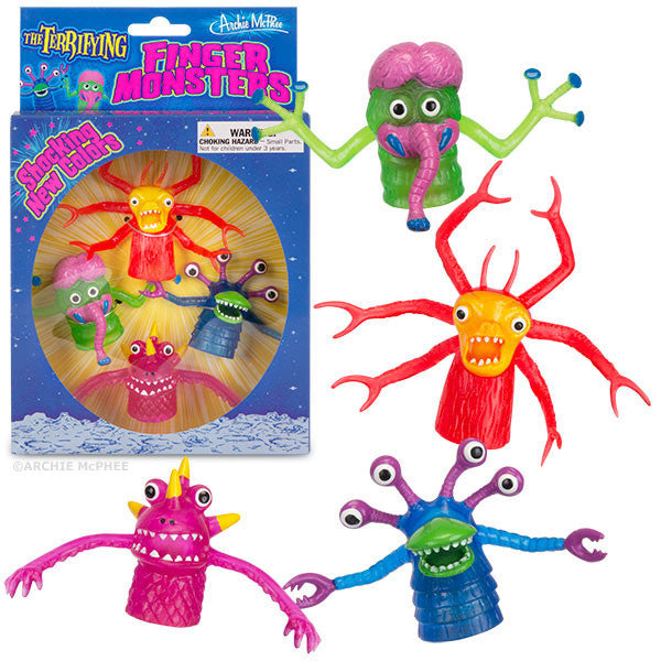 Deluxe Finger Monsters Boxed Set-Archie McPhee