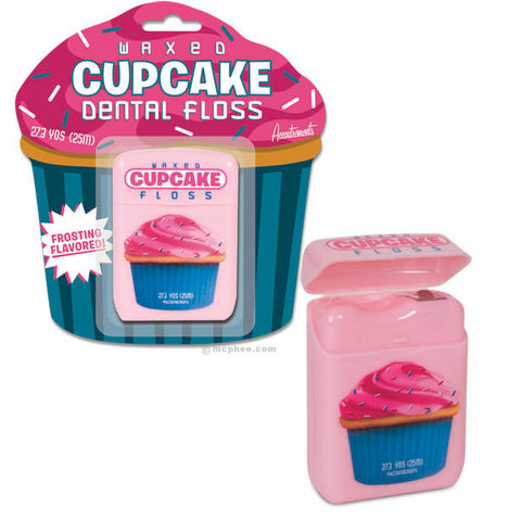 Frosting Flavored Cupcake Floss