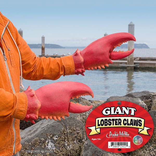 Giant Lobster Claws-Archie McPhee