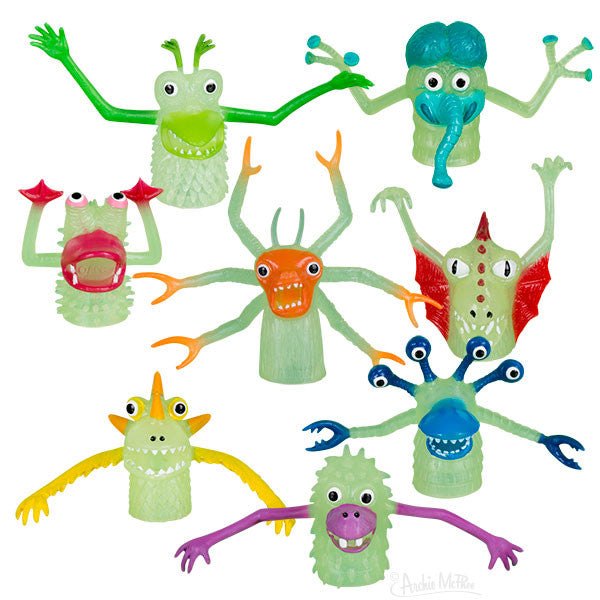 Glow-in-the-Dark Finger Monsters-Archie McPhee