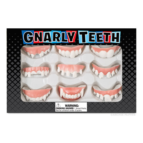 Gnarly Teeth - Fake Teeth-Archie McPhee