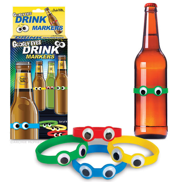 Googly Eyes Drink Markers-Archie McPhee