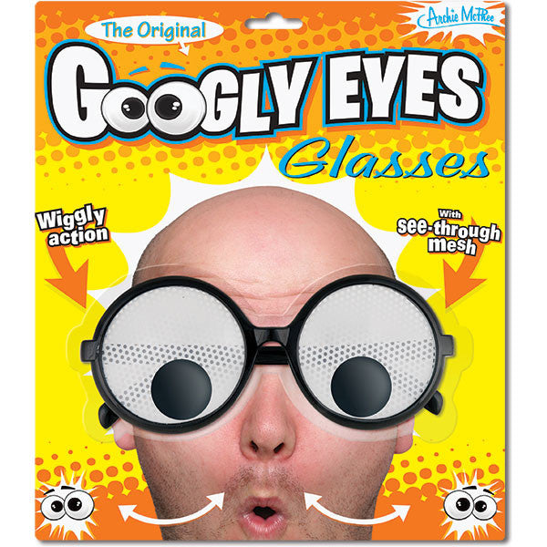 Googly Eyes Glasses-Archie McPhee
