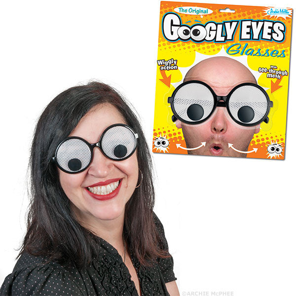 Googly Eyes Glasses Archie Mcphee Amp Co