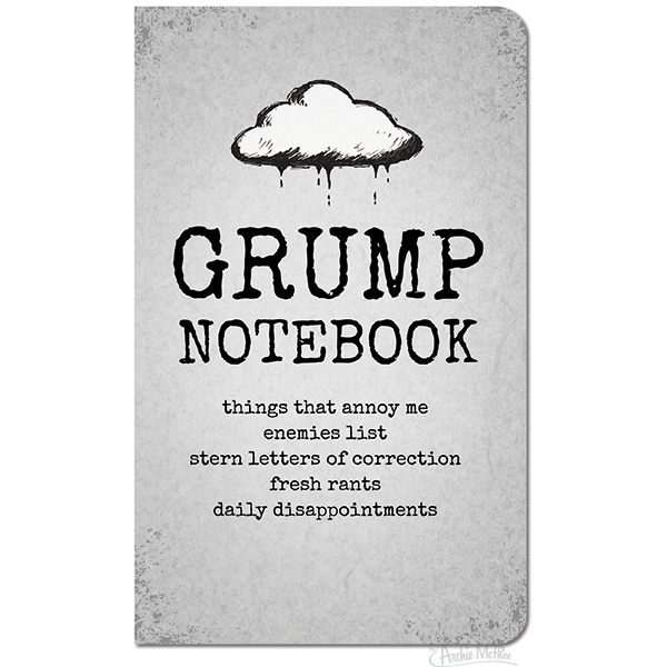 Big Grump Notebook