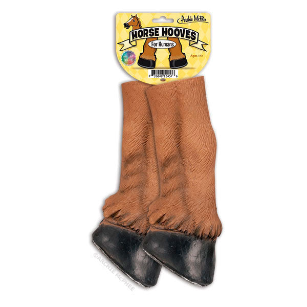 Horse Hooves Archie Mcphee Amp Co