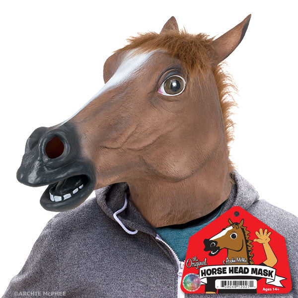Horse Head Mask - The original Horse Mask-Archie McPhee