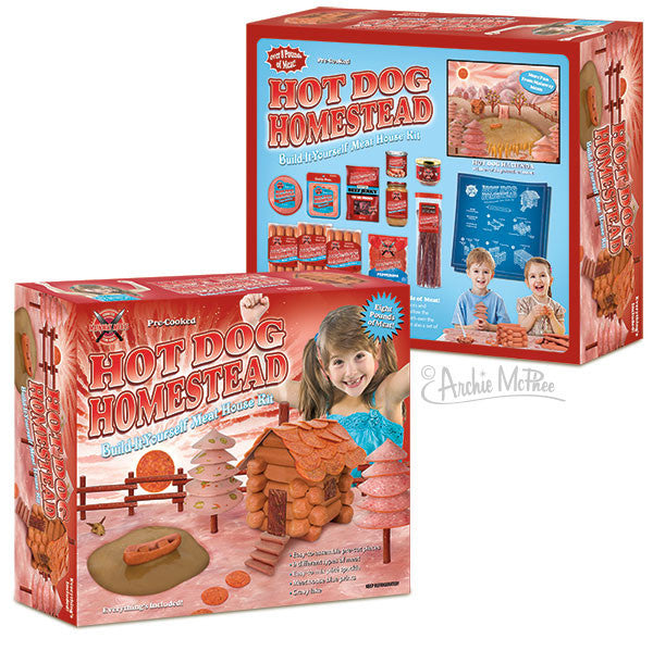 Hot Dog Homestead Gag Gift Box-Archie McPhee