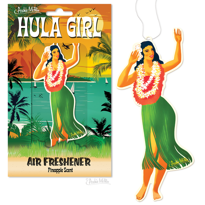 Hula Girl Air Freshener