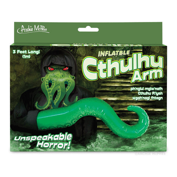 Inflatable Cthulhu Arm - Archie McPhee - 2