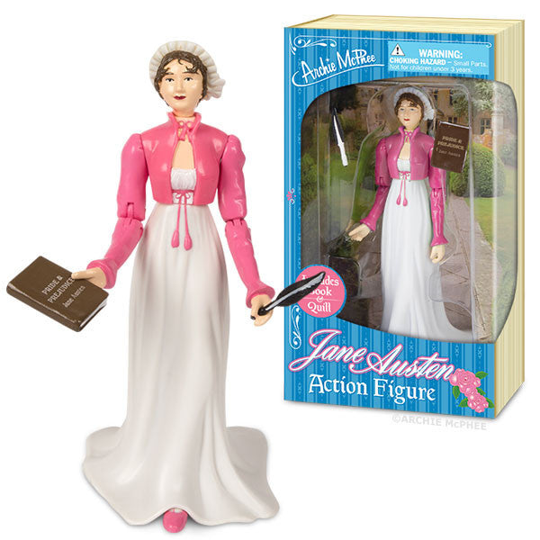 Jane Austen Action Figure-Archie McPhee