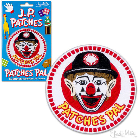 Patches Pal Embroidered Patch