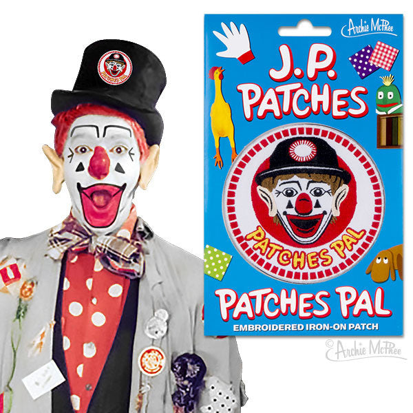 Patches Pal Embroidered Patch - Archie McPhee - 1