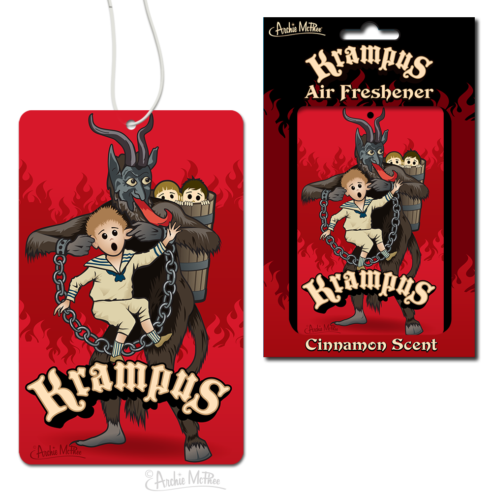 Krampus Air Freshener