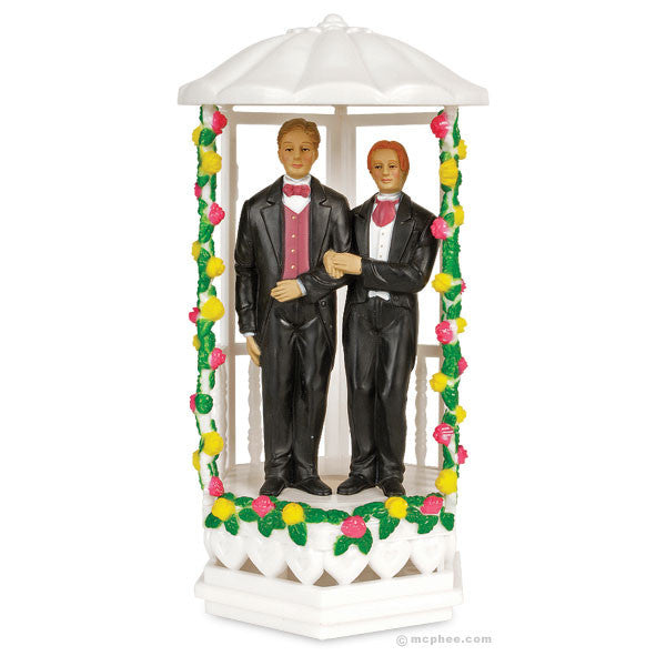 Two Grooms Cake Topper-Archie McPhee
