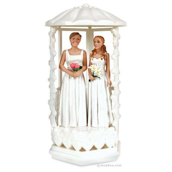 Two Brides Cake Topper - Archie McPhee