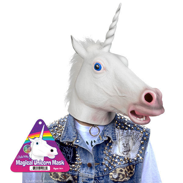 Magical Unicorn Mask - Archie McPhee - 1