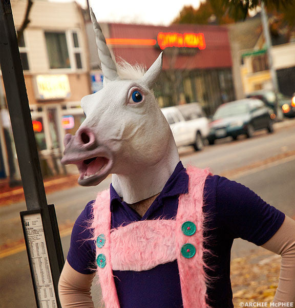 Magical Unicorn Mask - Archie McPhee - 2