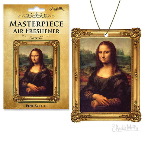 Masterpiece Air Freshener - Mona Lisa