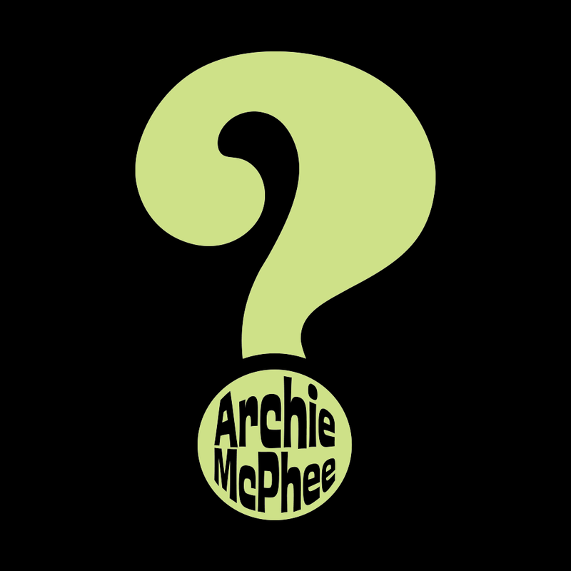 Question Mark Archie McPhee T-Shirt